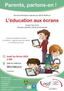 """""""L'éducation aux écrans"""""""