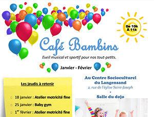 Café bambins : temps de discussion