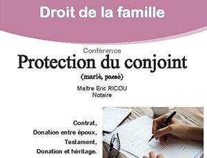 Droit de la famille, protection du conjoint