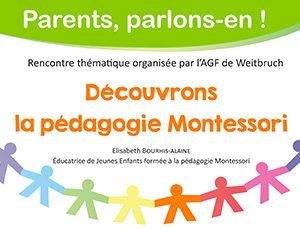 Découvrons la pédagogie Montessori