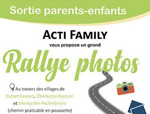 "Sortie parents-enfants : ""Rallye photos"""