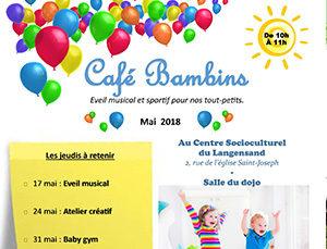 Café bambins : atelier créatif