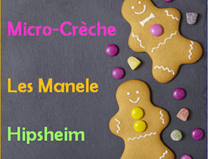 Places disponibles à la micro-crèche d'Hipsheim !