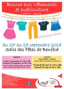 Bourse aux vêtements à Benfeld