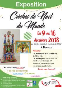 """Exposition """"Crèches de Noël du monde"""""""