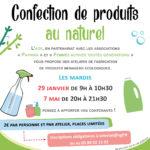 Confection de produits au naturel