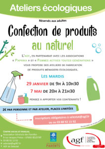 Confection de produits au naturel