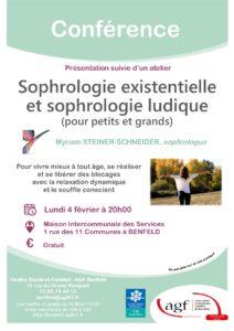 """Conférence """"Sophrologie existentielle et sophrologie ludique"""""""