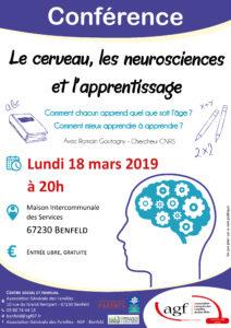 Le cerveau, les neurosciences et l'apprentissage