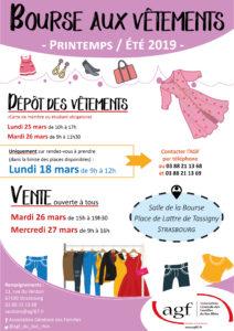 Bourse aux vêtements printemps/été