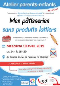 """""""Mes pâtisseries sans produits laitiers"""""""