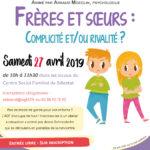"""Café parents """"Frères et soeurs : complicité et/ou rivalité"""""""