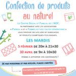 Atelier confection de produits cosmétiques au naturel