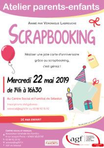 "Atelier scrapbooking ""carte d'anniversaire"""