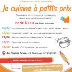 """Atelier """"Je cuisine à petits prix"""""""