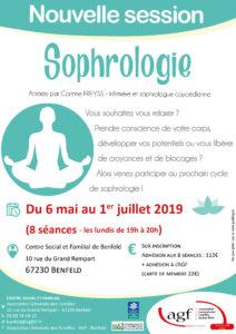 Nouvelle session de sophrologie, les lundis de 19h à 20h