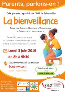"""Café parents """"La bienveillance"""""""