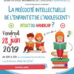 """Conférence """"La précocité intellectuelle de l'enfant et de l'adolescent : atout ou handicap ?"""""""