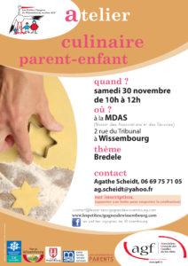 Atelier culinaire (pour les 4-12 ans)