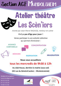"""Atelier théâtre """"Les Scèn'iors"""""""