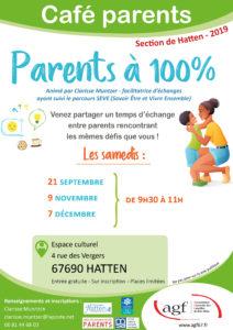 """Café parents """"Parents à 100%"""""""