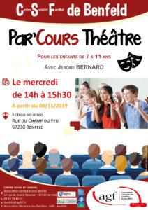 Par'cours théâtre (enfants de 7 à 11 ans)