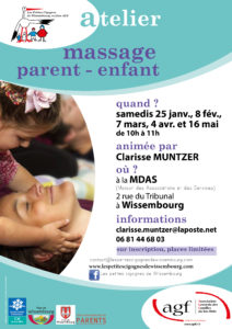 Atelier massage parent-enfant