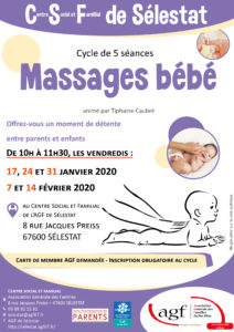 "Cycle ""Massages bébé"""