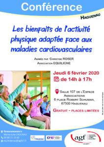"""Conférence """"Les bienfaits de l'activité physique adaptée face aux maladies cardiovasculaires"""""""