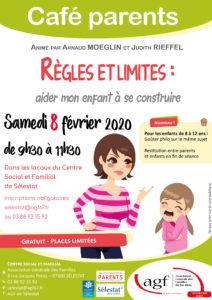"""Café parents """"Règles et limites : aider mon enfant à se construire"""""""