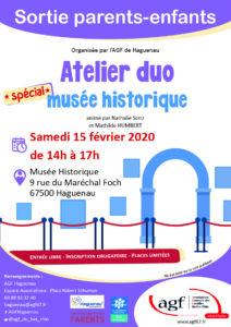 """Atelier DUO """"Musée historique"""""""