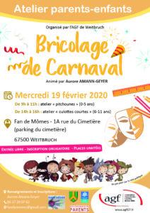 Bricolage de Carnaval