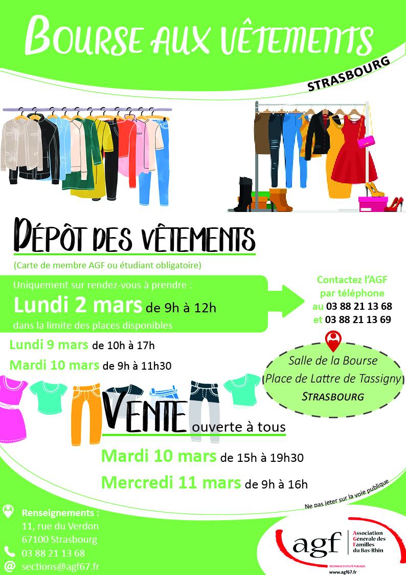 Bourse aux vêtements – Strasbourg