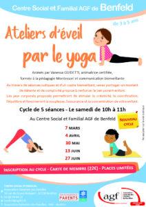 """Atelier parents-enfants """"Ateliers d'éveil par le yoga"""""""