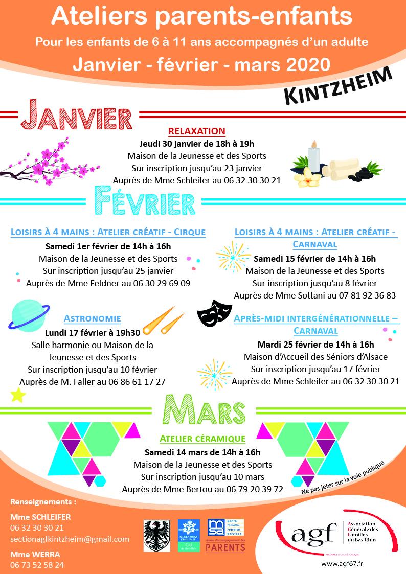 Atelier Parents Enfants Kintzheim