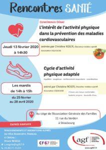 """Conférence """"Rencontre santé"""""""