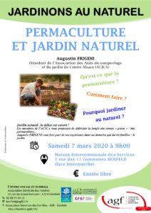 "Jardinons au naturel ""Permaculture et jardins naturels"""