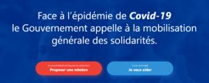[Covid-19] Mobilisation citoyenne et solidaire