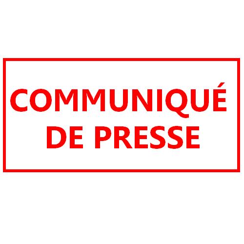 [Covid-19] Communiqué de presse et informations pratiques