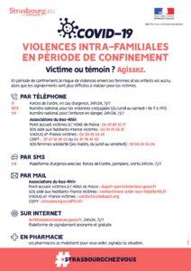 Violences Intra-Familiales en période de confinement