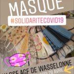 [Covid-19] Appel à bénévole pour la confection de masques à Wasselonne