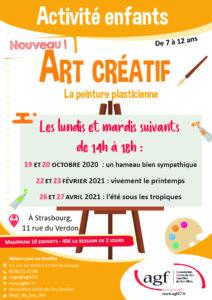 """Activité enfants Art créatif """"La peinture plasticienne"""""""