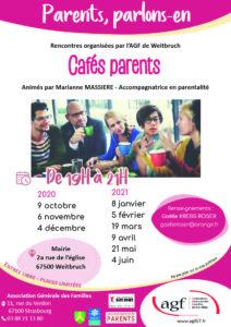 """Parents, parlons-en """"Café parents"""""""