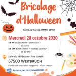 """Atelier parents enfants """"Bricolage d'Halloween"""""""