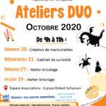 """Atelier Duo """"Création de marionnettes"""""""