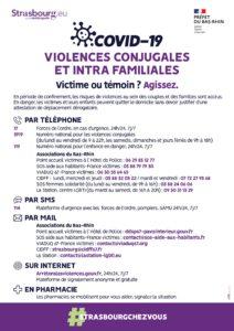 Violences conjugales et intrafamiliales, n'hésitez pas à appeler !