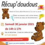 Atelier Récup' doudous (6-11 ans)