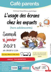 L'usage des écrans chez les enfants