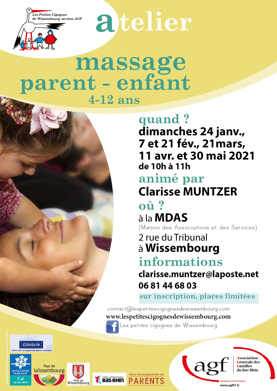 Atelier massage parents-enfants