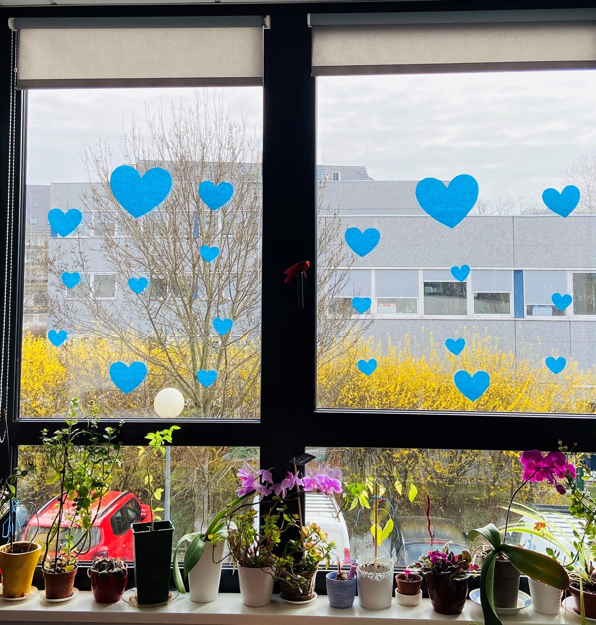 Challenge des cœurs bleus